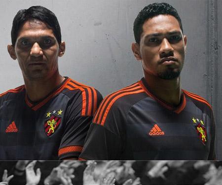 Camisa reserva do Sport Recife 2015-2016 Adidas capa