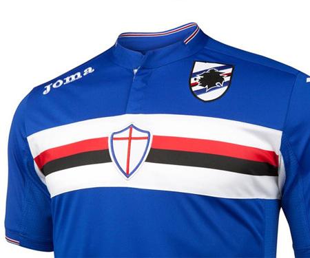 Camisas da Sampdoria 2015-2016 Joma capa