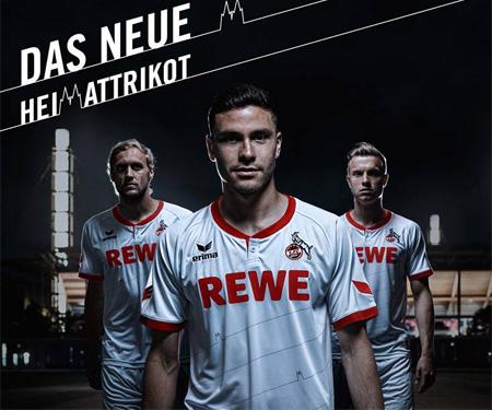 Camisas do Colônia 2015-2016 Erima capa