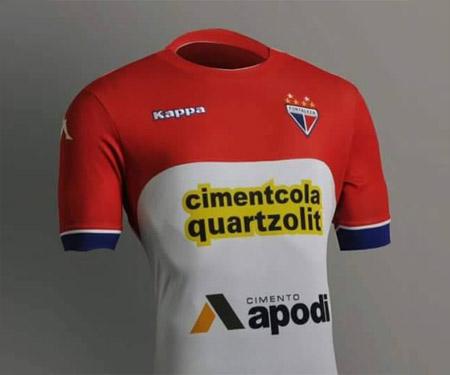 Camisas do Fortaleza 2015-2016 Kappa capa