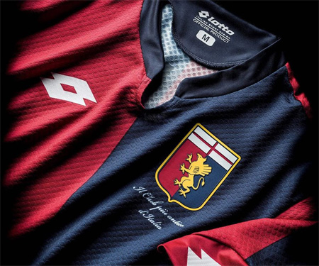 Camisas do Genoa 2015-2016 Lotto capa