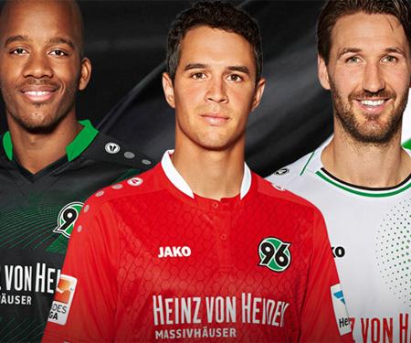 Camisas do Hannover 96 2015-2016 Jako capa