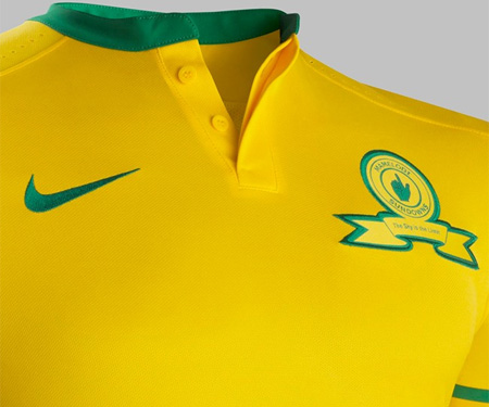 Camisas do Mamelodi Sundowns 2015-2016 Nike Titular capa