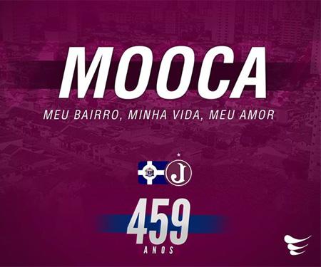 Juventus prepara camisa para os 459 anos da Mooca caoa