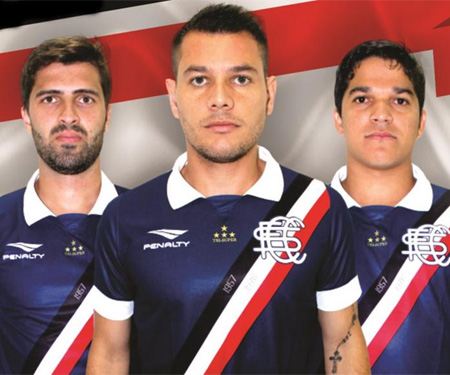 Terceira camisa do Santa Cruz FC 2015-2016 Penalty capa