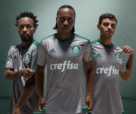 Camisas do Palmeiras 2015 Adidas
