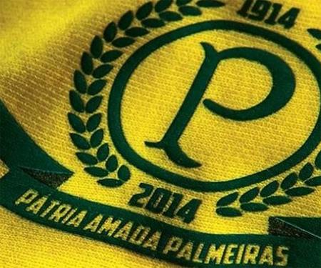 Camisa amarela do Palmeiras capa