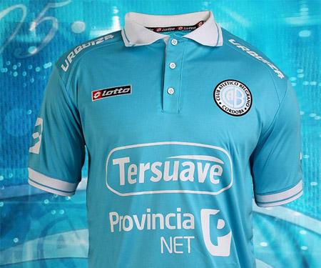 Camisa do Belgrano 2015 Lotto