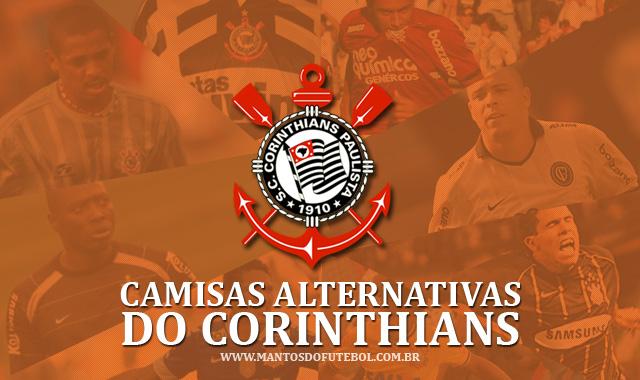 Camisas alternativas do Corinthians