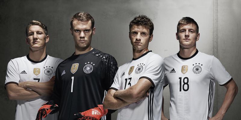 Camisas da Alemanha 2016 Eurocopa Adidas