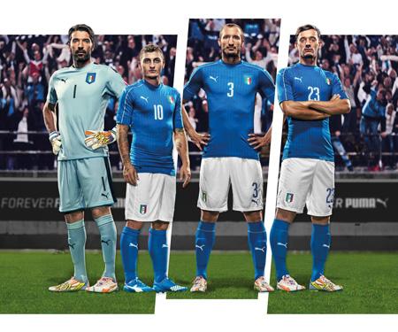 Camisas da Itália 2016 Eurocopa Puma