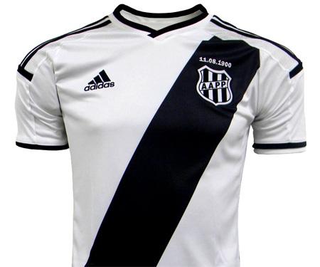 Camisas da Ponte Preta 2015-2016 Adidas 115 anos capa