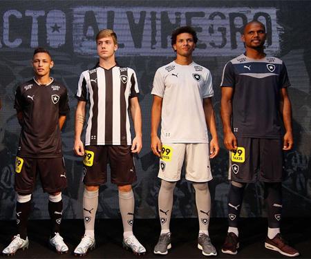 Camisas do Botafogo 2015-2016 Puma capa
