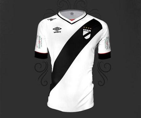 Camisas do Danúbio 2015-2016 Umbro capa