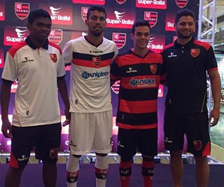 Camisas do Flamengo-PI 2015-2016 Super Bolla capa