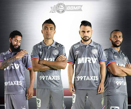 Terceira camisa do Bahia 2015-2016 Penalty Esquadrão de Aço capa