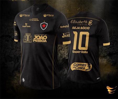 Terceira camisa do Botafogo-PB 2015-2016 Super Bolla capa