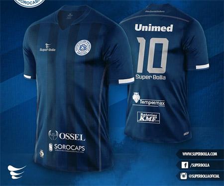 Terceira camisa do São Bento 2015-2016 Super Bolla capa