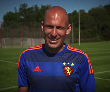 Terceira camisa do Sport Recife 2015-2016 Adidas Robben