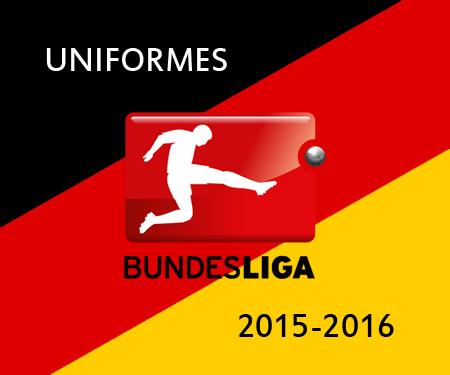 Uniformes da Bundesliga 2015-2016 Campeonato Alemão capa