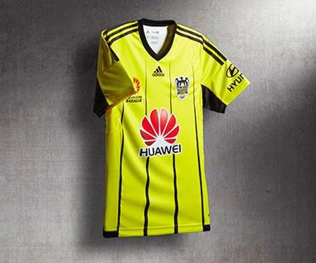 Camisas Wellington Phoenix Adidas 2015-2016