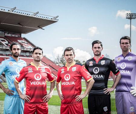 Camisas do Adelaide United 2015-2016 Kappa