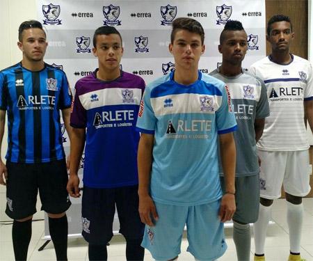 Camisas do Atlético Tubarão-SC 2015-2016 Erreà