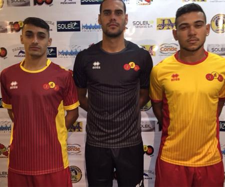 Camisas do Jabaquara Atlético Clube 2015-2016 Erreà