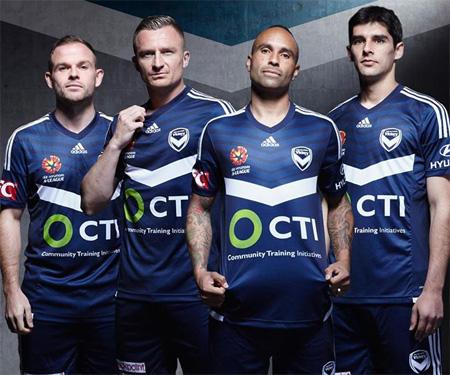 Camisas do Melbourne Victory 2015-2016 Adidas