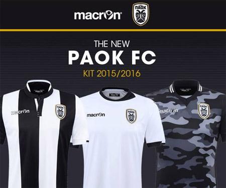 Camisas do PAOK 2015-2016 Macron capa