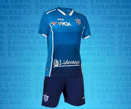 Terceira camisa do Avaí 2015-2016 Fila capa