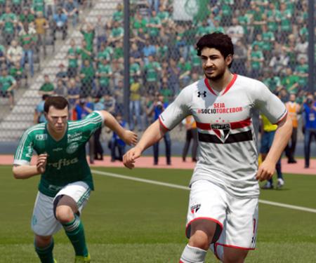 Uniformes dos times brasileiros no FIFA 16