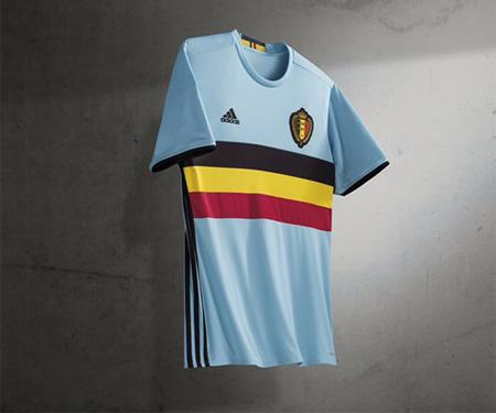 Camisas da Bélgica 2016 Eurocopa Adidas Reserva capa