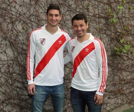 Coleção retrô do River Plate 1994 Adidas Originals