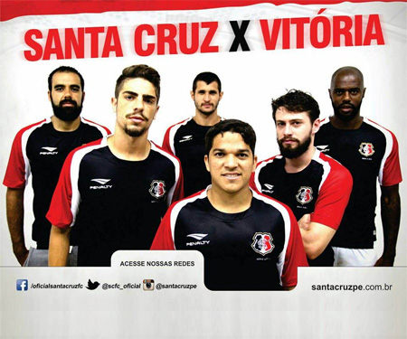 Camisa especial do acesso do Santa Cruz FC 2015 Penalty capa