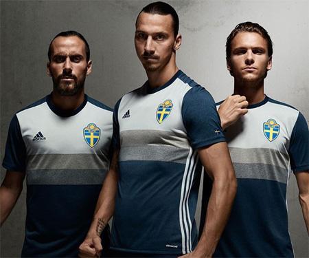 Camisas da Suécia 2016-2017 Adidas Reserva capa