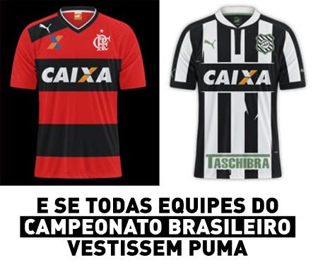 E se o Brasileirão fosse todo Puma capa