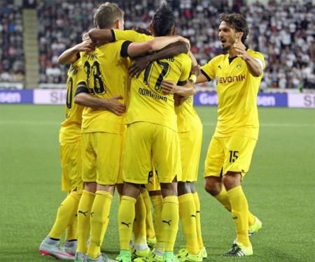 Borussia todo amarelo