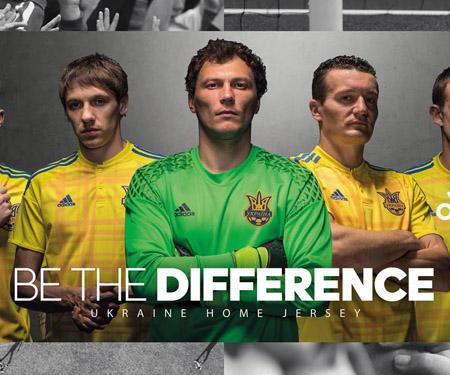Camisas da Ucrânia 2016 Adidas Eurocopa capa