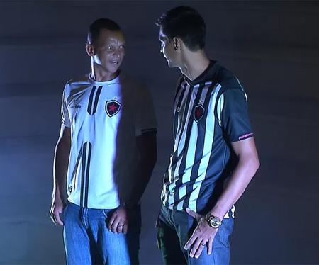 Camisas do Botafogo-PB 2016 Super Bolla capa