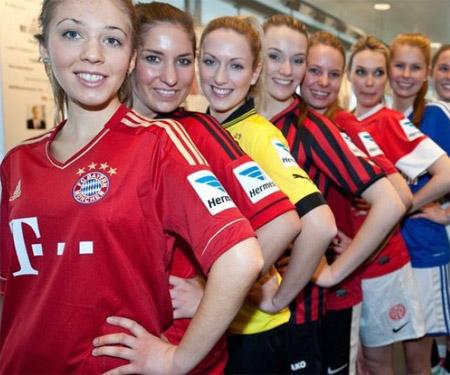 Clubes alemães terão patrocínios nas mangas da camisa