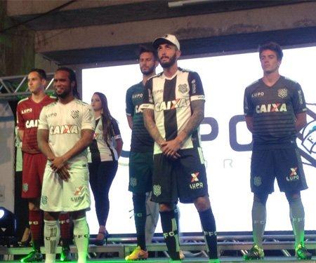 Camisas do Figueirense 2016 Lupo Sport capa