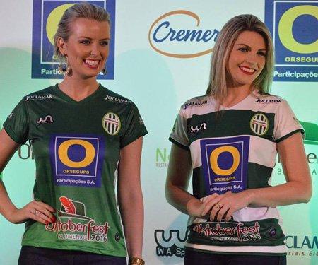 Camisas do Metropolitano-SC 2016 WA Sport capa