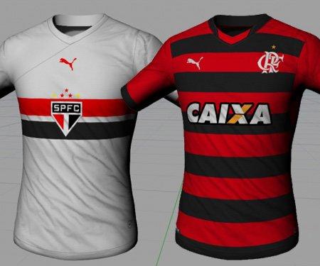 Clubes do Brasileirão 2015 vestindo Puma capa