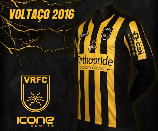 Camisas do Volta Redonda FC 2016 Ícone Sports capa
