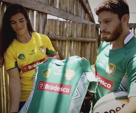 Novas camisas da Seleção Brasileira de Rugby 2016 Topper capa