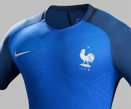 Camisas da França 2016-2017 Nike