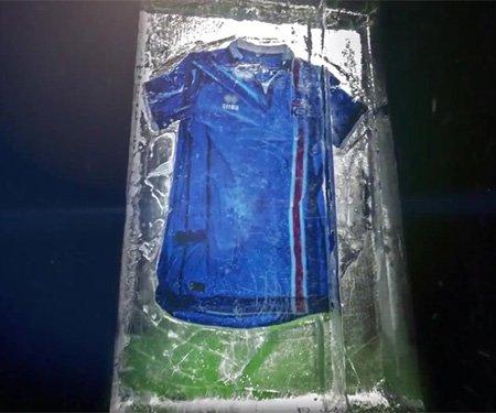 Camisas da Islândia 2016 Erreà Eurocopa capa
