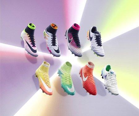 Radiant Reveal Pack Nike lança chuteiras para homens e mulheres capa