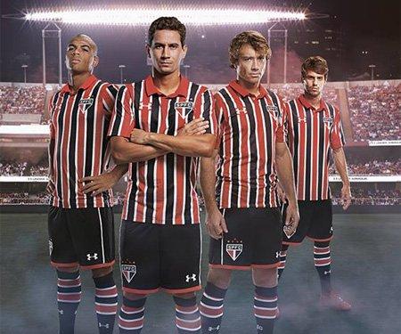 lazo Meyella multitud  Camisas do São Paulo FC 2016-2017 Under Armour » Mantos do Futebol